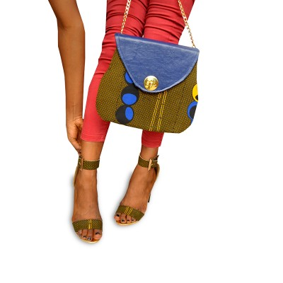Women Stylish Green shoulder bag with heal shoe