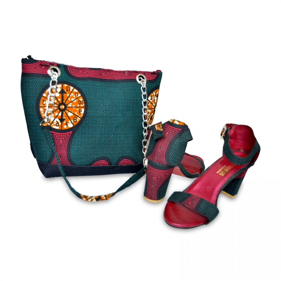 Women stylish Tote shoulder bag with long heals