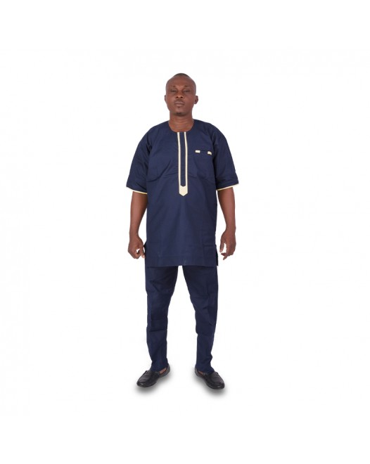 Mens african Navy blue dresses