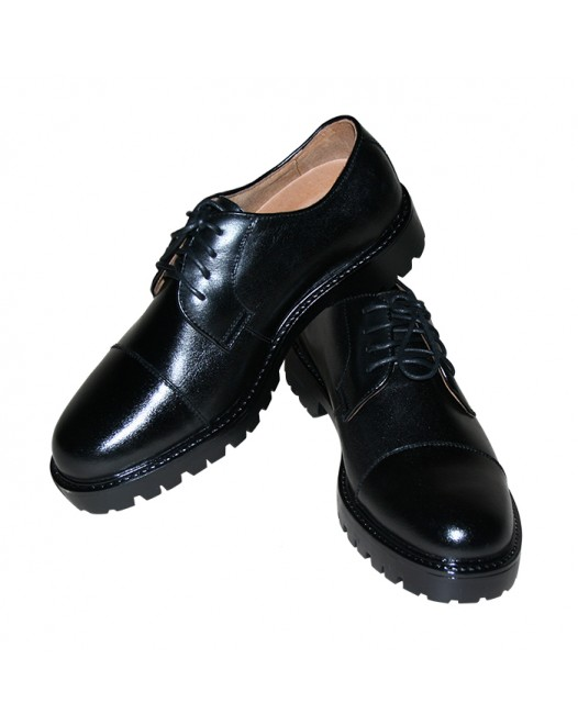 Men's Black Lace Up Patent Leather Oxford Dress Shoes Formal Shoe