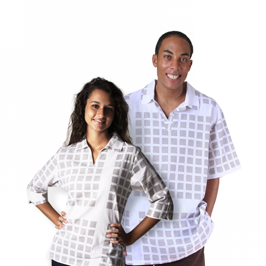 White Brown boxed Top Men & Women Valentines Special