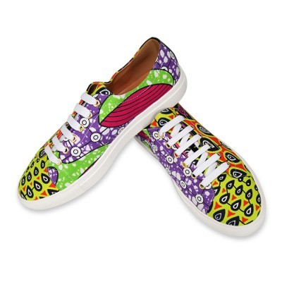 Unisex Funky Converse Multicolored Sneakers