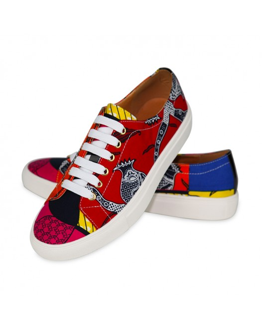 African Women Stylish Sneakers For All