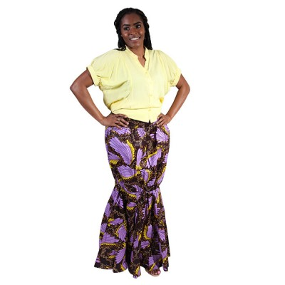 African Printed maxi Long Skirt